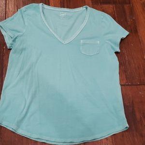 Gap vintage wash v neck T-shirt